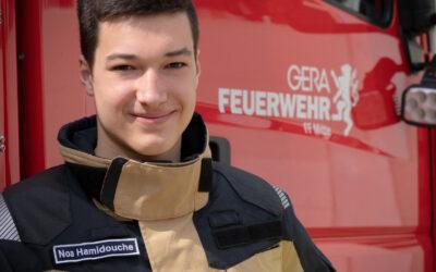 Industriemechaniker und Feuerwehrmann